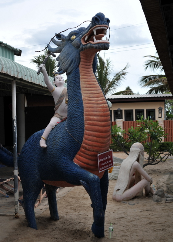 Destination: Puek Tian Beach — a naked ascetic, a dragon ridden like a horse, and a six-meter-tall she-demon (Phetchaburi, Thailand) - Thailand -