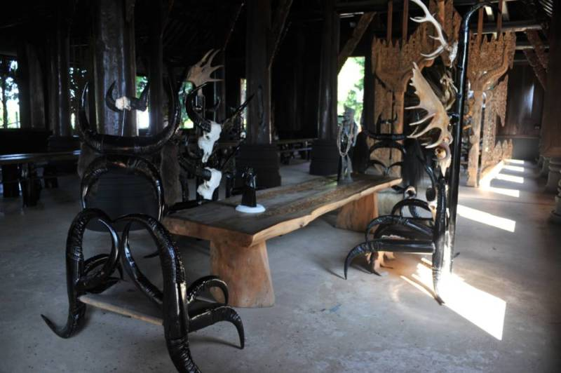 Destination: the Black House — home to the most skulls and horns in northern Thailand - Thailand -