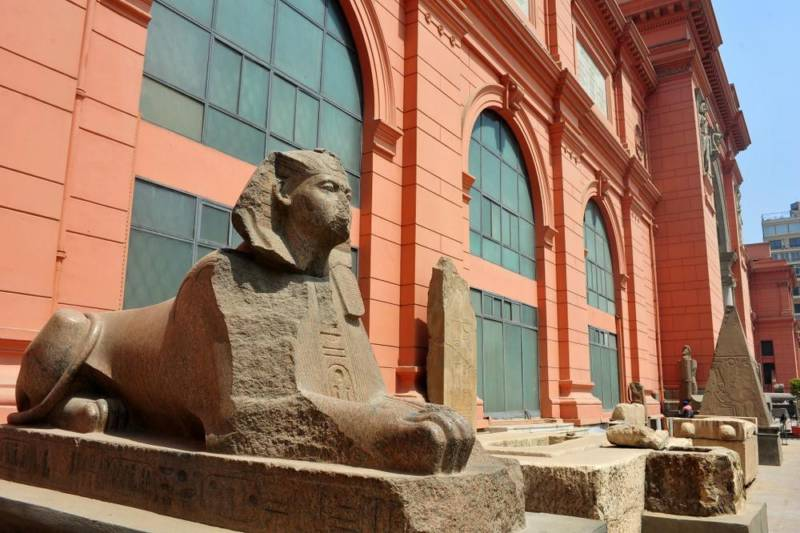 Destination: Museum of Egyptian Antiquities — the iconic Egyptian museum — Cairo, Egypt - Egypt -
