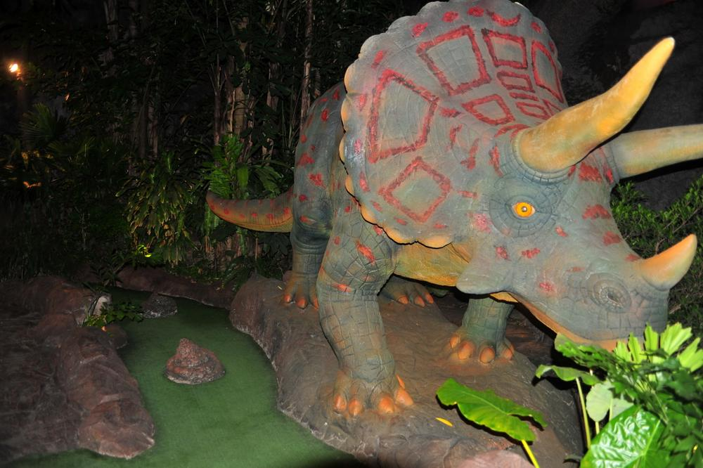 Destination: Dino Park Mini-golf — one of the most fun courses I've ever played (Phuket, Thailand)