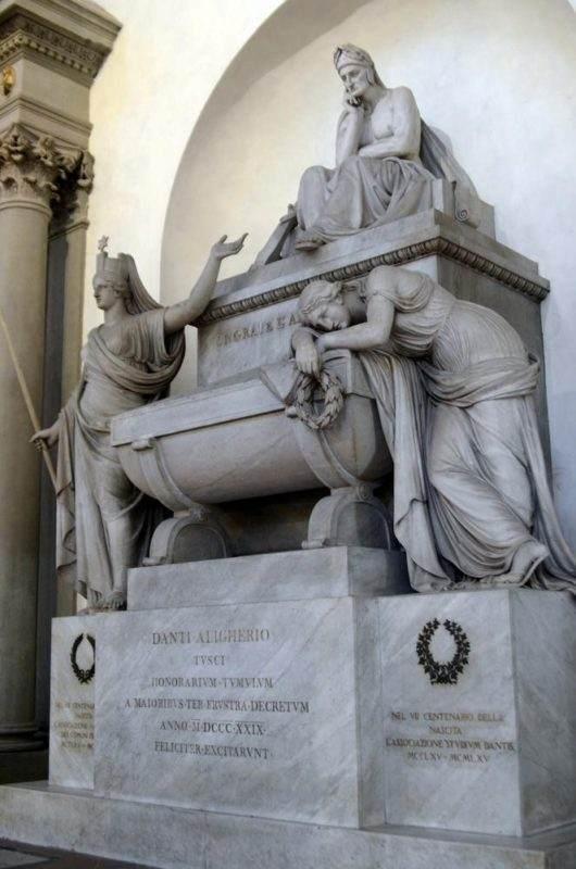 Destination: Basilica di Santa Croce — Home of Dante's Empty Tomb (Italy) - Italy -