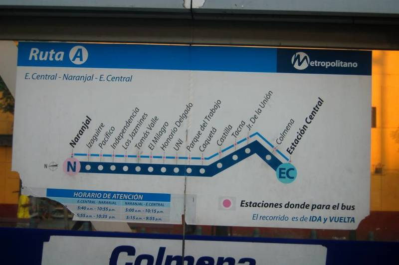Getting around Lima: a guide to the crowded, chaotic, and confusing transportation system - Getting Around -