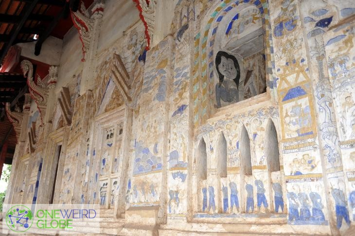 Destination: the Thai temple with the bizarre illustrations (Khon Kaen, Thailand) - Thailand -