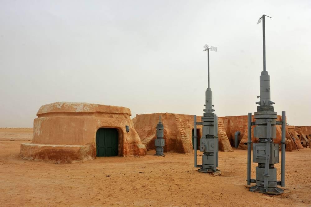 A long time ago… in a desert far far away… Destination: Mos Espa, Darth Vader's childhood home…