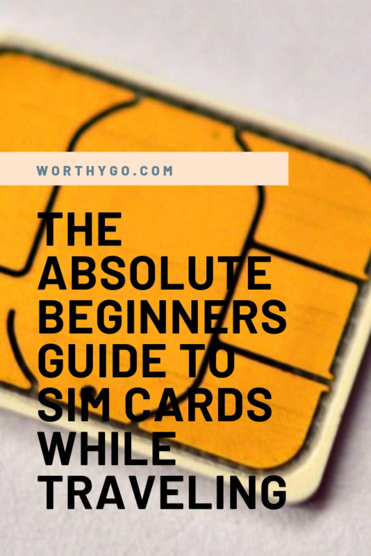 Absolute Beginners Guide to SIM Cards