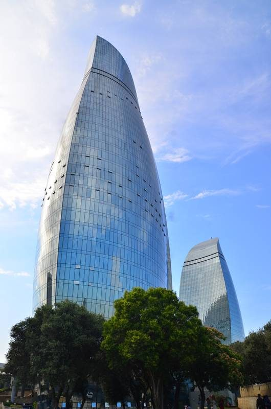 Baku, Azerbaijan Flame Towers