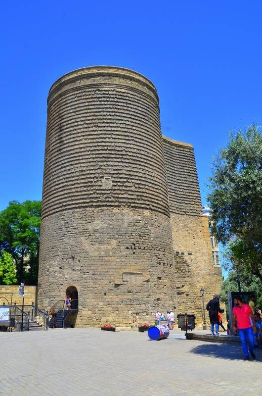 Baku, Azerbaijan Maiden Tower in the old town