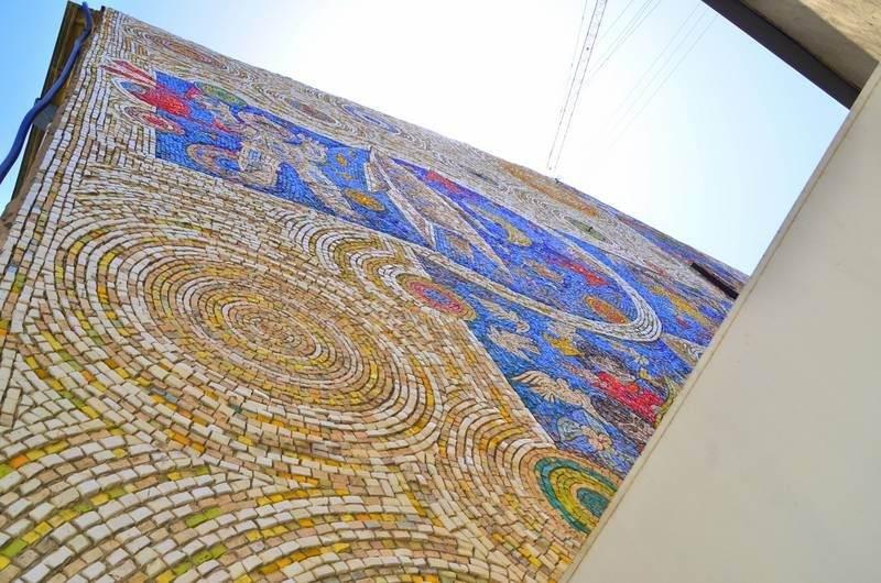 Baku, Azerbaijan mosaic