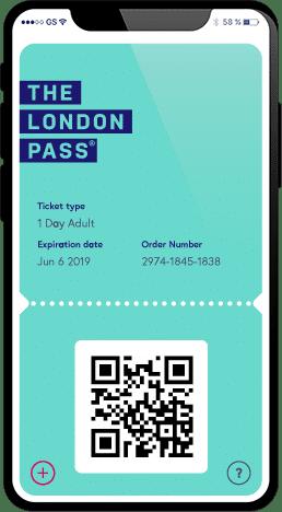 London card phone pass