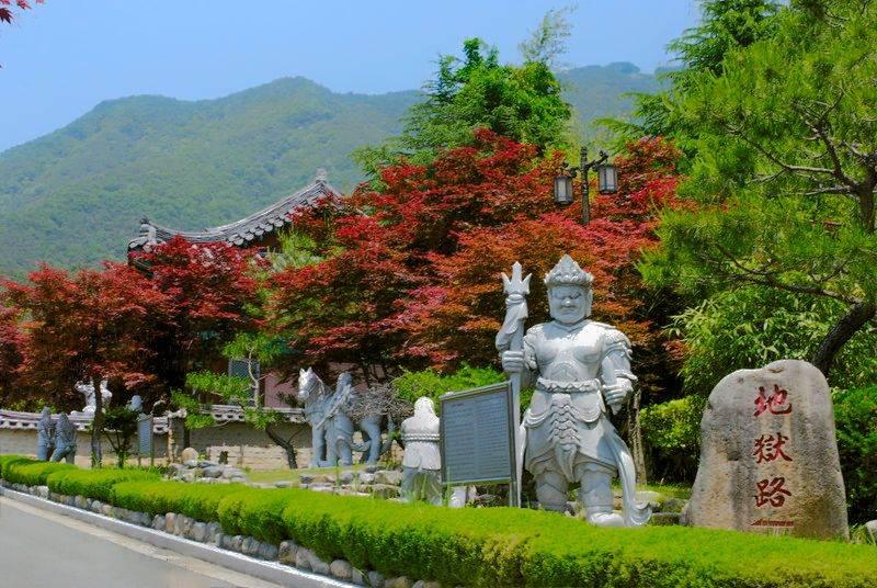Destination: Bugok Hawaii AKA Buddhist hell – where water park meets Buddhist hell (NSFW) (Changnyeong-gun, Gyeongsangnam-do, South Korea - South Korea -